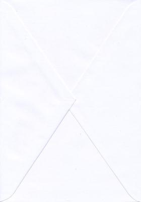 54185 - Kuvert vitt, dopminne (200 x 250 mm)