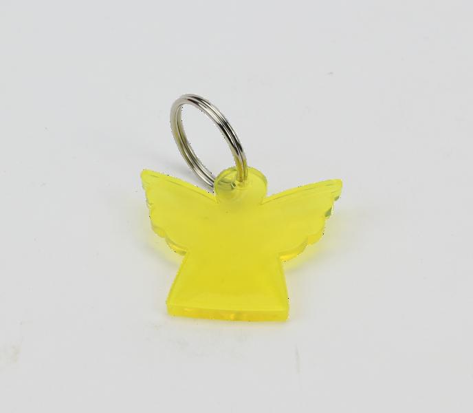 Nyckelring - Ängel i plexiglas