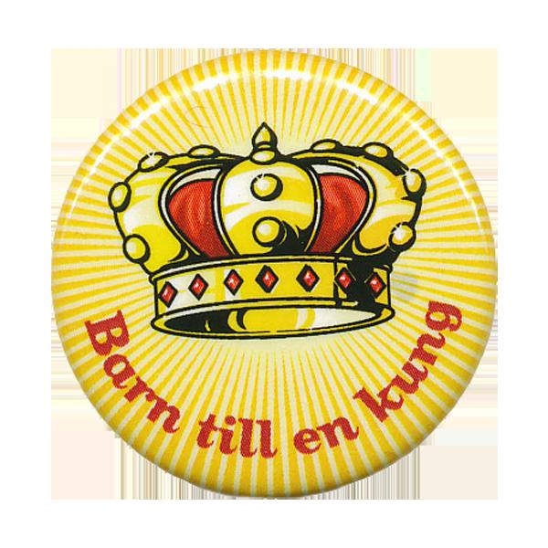 Rockmärke/Pin - Barn till en kung