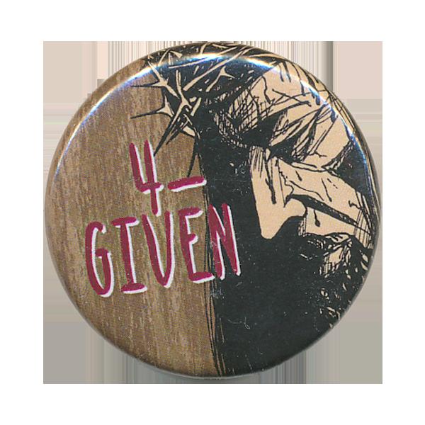 Rockmärke/Pin - 4-Given