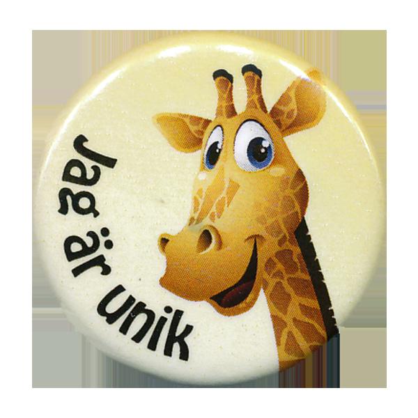 Rockmärke/Pin - Giraff