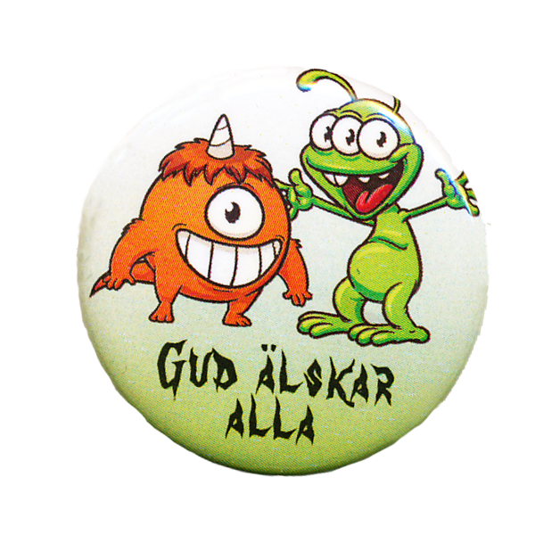 Rockmärke/Pin - Monster