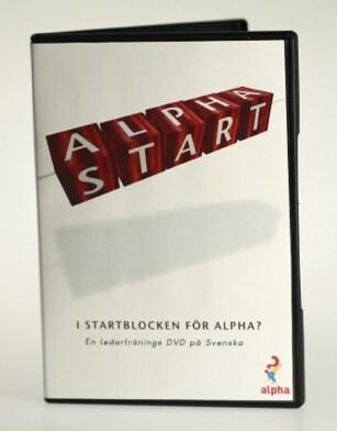 Alpha - I startblocken för Alpha - DVD