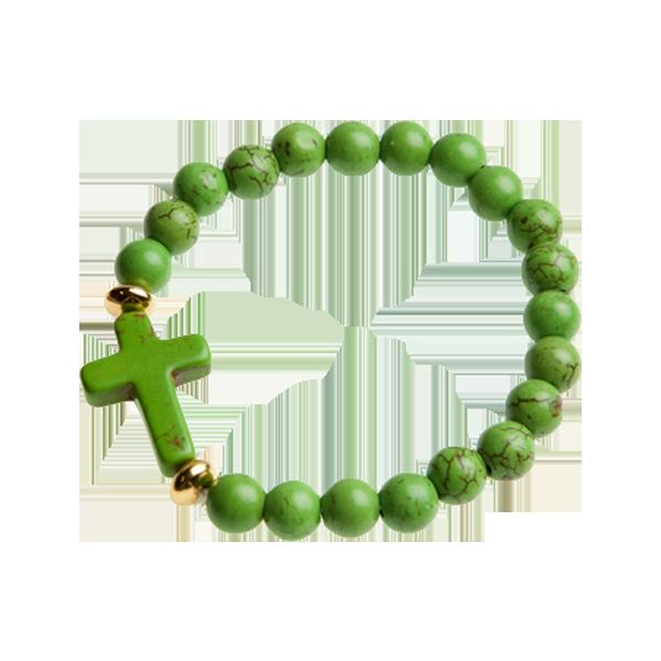 Armband - Kula - grön
