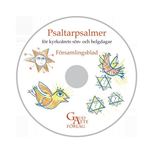 Psaltarpsalmer för kyrkoårets sön- och helgdagar - CD-rom