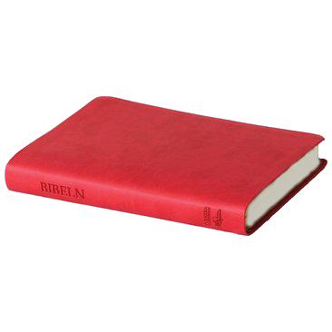 Svenska Folkbibeln 2015, slimline, rosa konstskinn