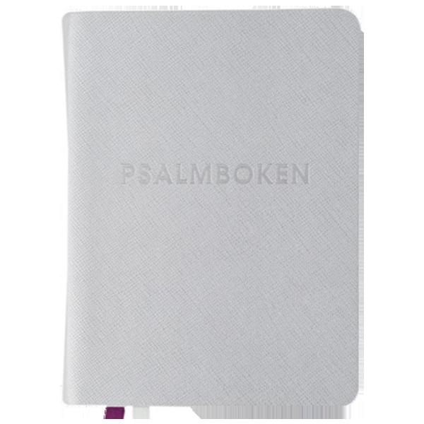 Den svenska psalmboken med tillägg (silver)