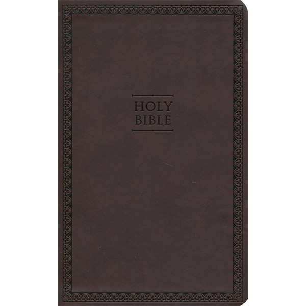 NIV Thinline Bible - Brun