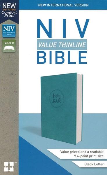 NIV Thinline Bible - Turkos