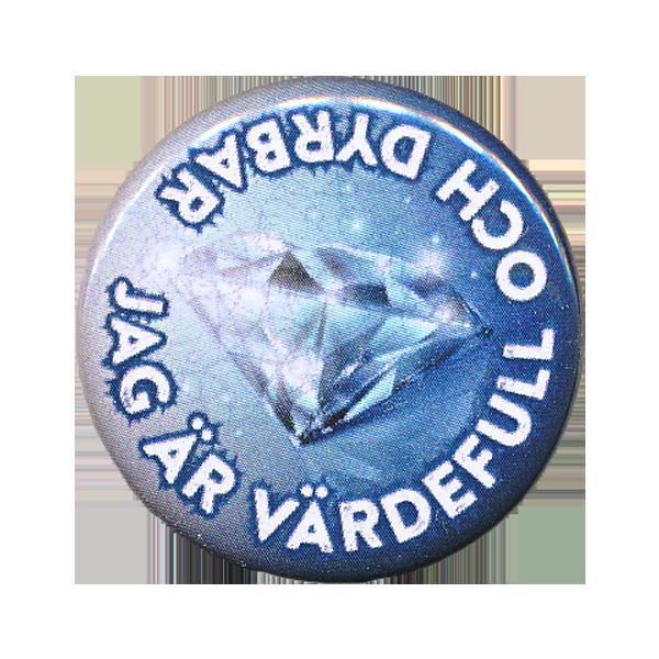 Rockmärke/Pin - Diamant