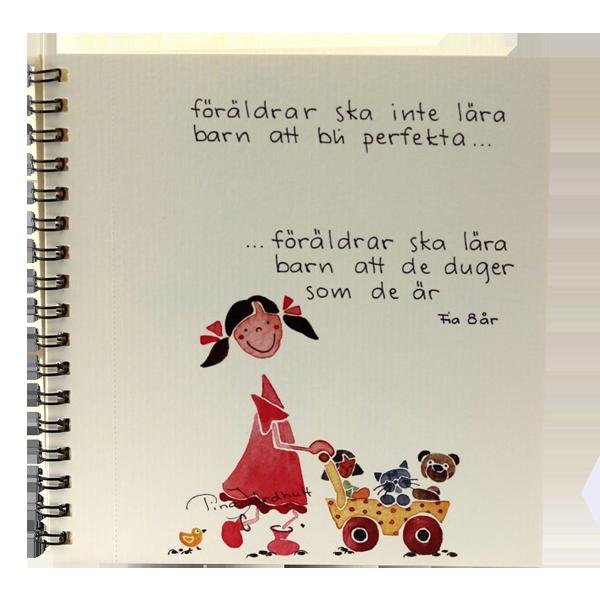 Vykortsalbum - Älskade barn - Tina Järdhult