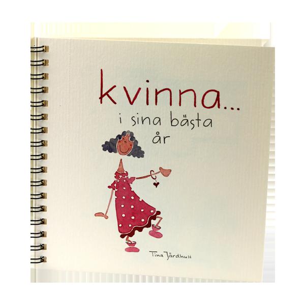 Vykortsalbum - Kvinna i sina bästa år - Tina Järdhult