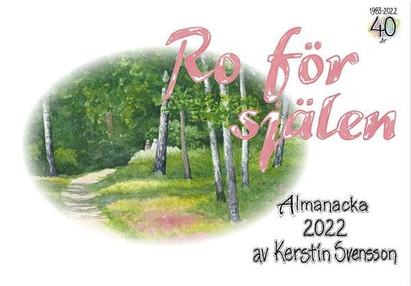 Ro för själen 2021 - Väggalmanacka - Kerstin Svensson