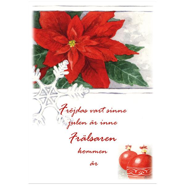 Julkort - Dubbelt med kuvert - BO5011