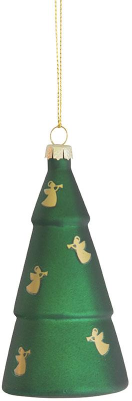 Julgransdekoration - Gran med änglar