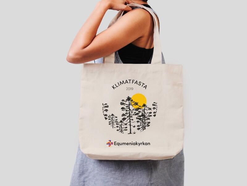 Tygkasse - Klimatfasta 2019 - Equmeniakyrkan