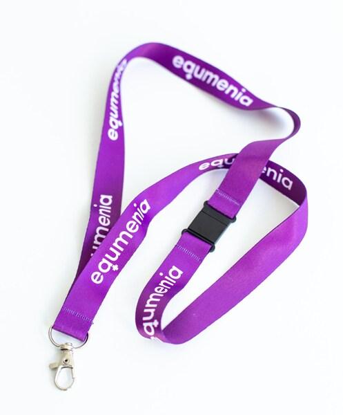 Nyckelband - lila - Equmenia