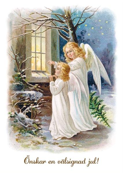 Julkort - Dubbelt med kuvert - BO5016