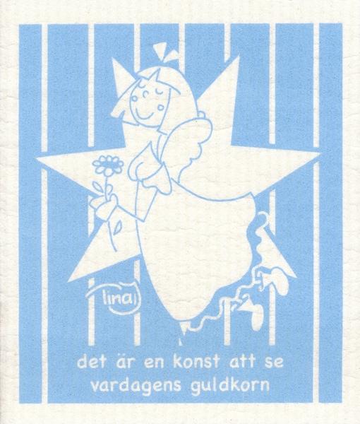 Disktrasa - Det är en konst - Blå - Tina Järdhult