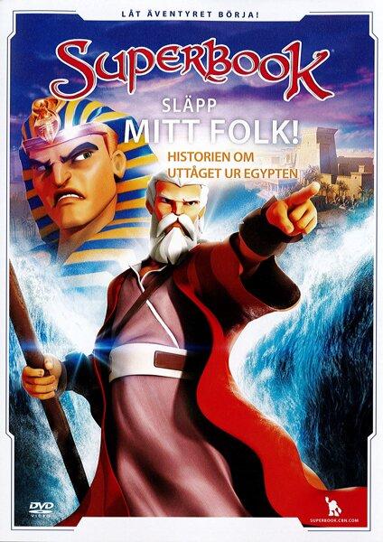 Superbook - Släpp mitt folk! - DVD