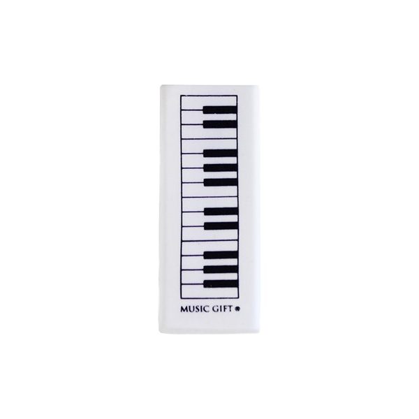 Radergummi - Klaviatur -  5 cm