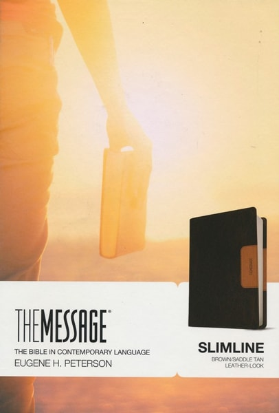 The Message Slimline Edition - Brown/Saddle Tan
