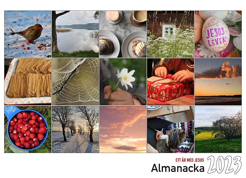 Almanacka - 2020 - Gud är stor