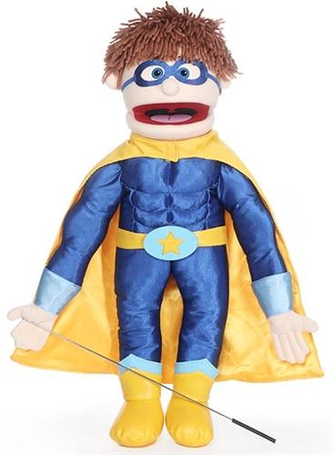 Handdocka - Superhjälte - Pojke - 65 cm