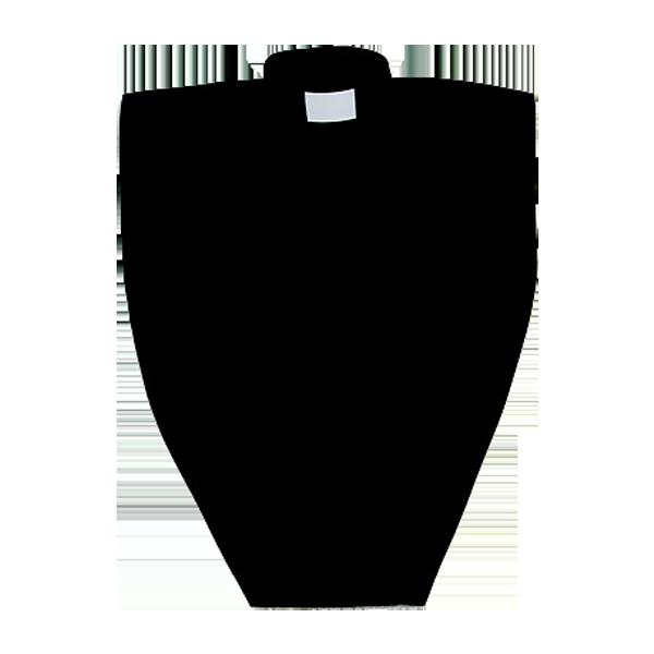 Skjortbröst  - Unisex, svart