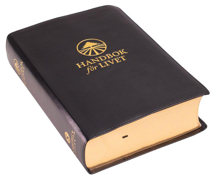 Handbok för livet - Helbibel - Svart