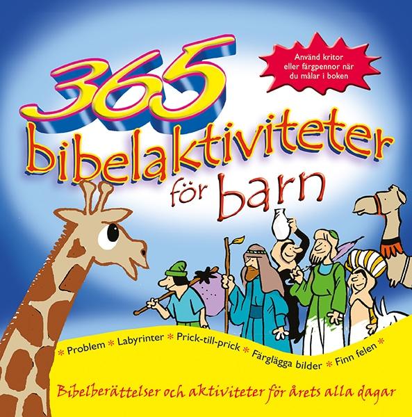365 bibelaktiviteter för barn