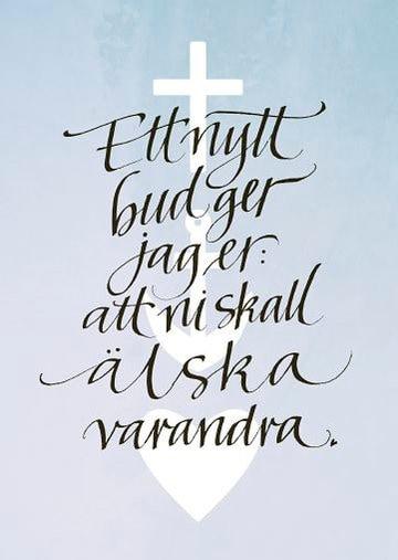 00527780 - Fadderbrev - Kalligrafi