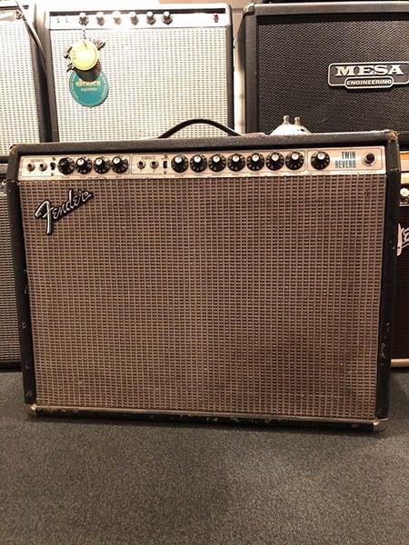 "Fender Twin Reverb (vintage) 2x12"" - Begagnad"