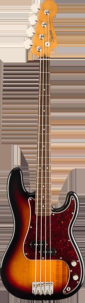 Squier Classic Vibe 60's P-bas, 3-color Sunburst