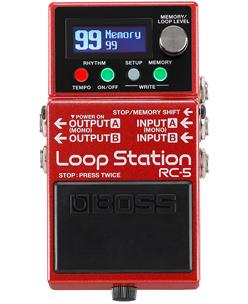 BOSS RC-5 - Loop Station