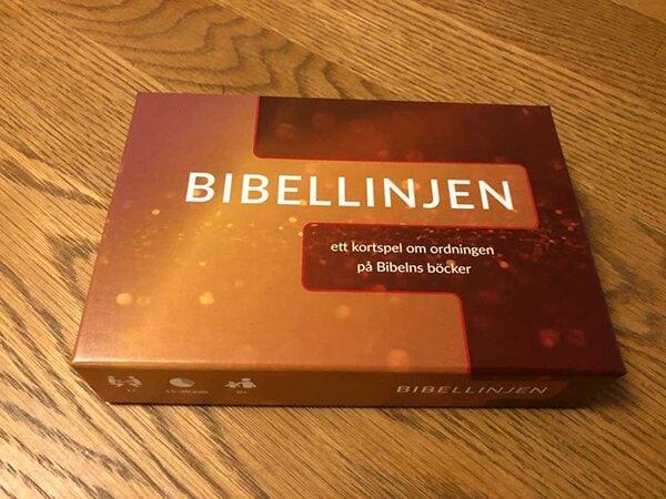 Bibellinjen – ett kortspel om ordningen på Bibelns böcker