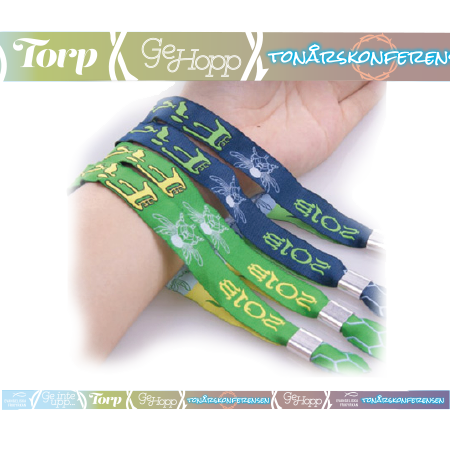 Festivalarmband Torp tonårskonferensen - 10 pack