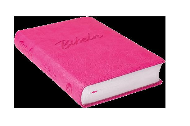 Nya Levande Bibeln : rosa