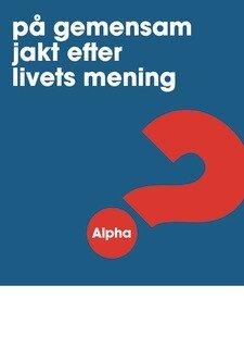 Alpha - Affisch - A3 - Blå