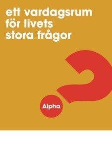Alpha - Affisch - A3 - Gul