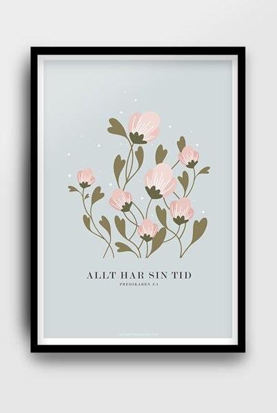 Poster - Allt har sin tid - A3