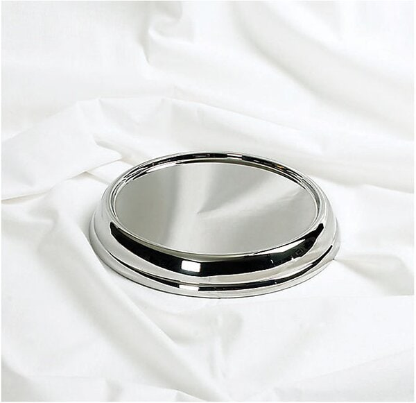 Sockel till nattvardsställ - Silverfärgad
