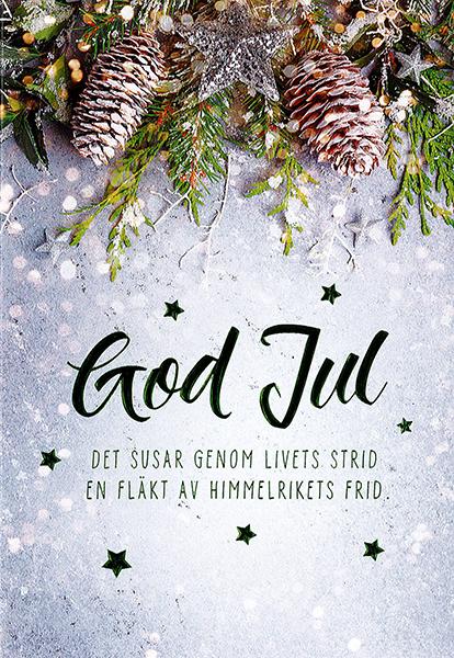 Julkort - Dubbelt med kuvert - KE22-1126