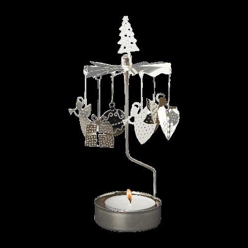 Änglaspel - Juldeco silver