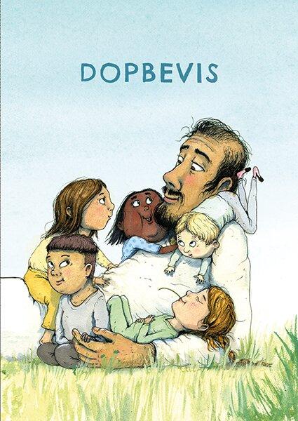 Dopbevis : Jesus och barnen 10-pack
