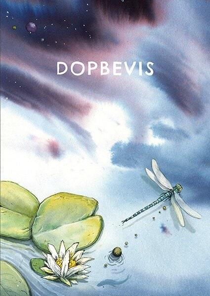 Dopbevis : Vuxendop 10-pack
