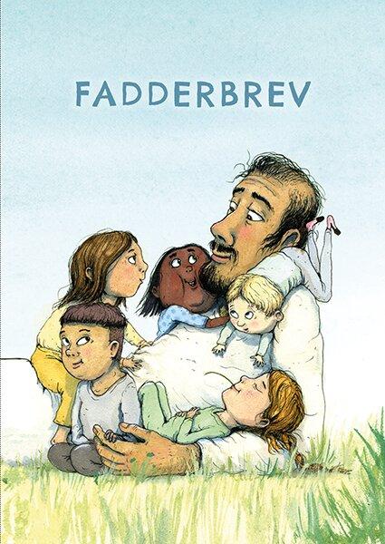 Fadderbrev : Jesus och barnen 10-pack