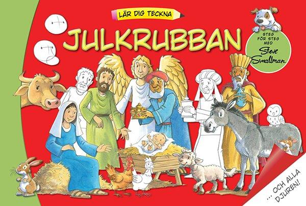 Lär dig teckna julkrubban ...och alla djuren