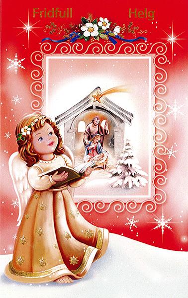 Julkort - Dubbelt med kuvert - CR060673-1