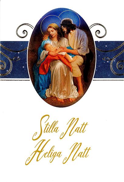 Julkort - Dubbelt med kuvert - CR060701-4